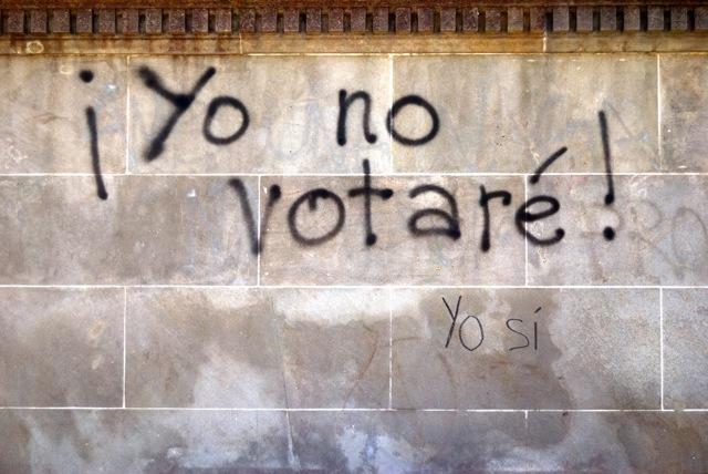 Resultado de imagen de yo no votaré